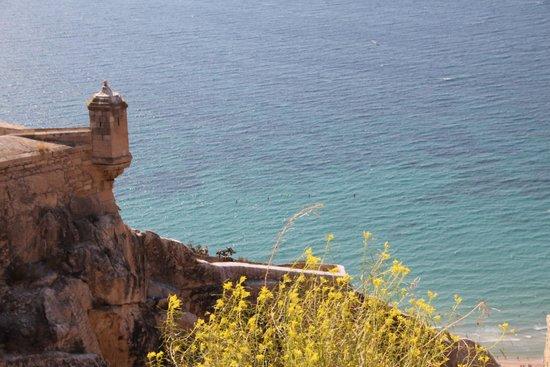 Castillo de Santa Bárbara: Вид с крепости