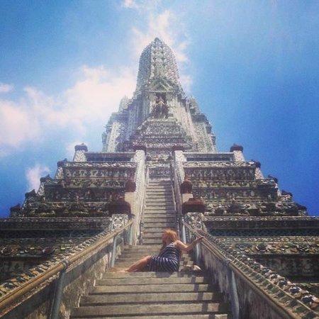 Wat Arun (Tempel der Morgenröte): Climb up!