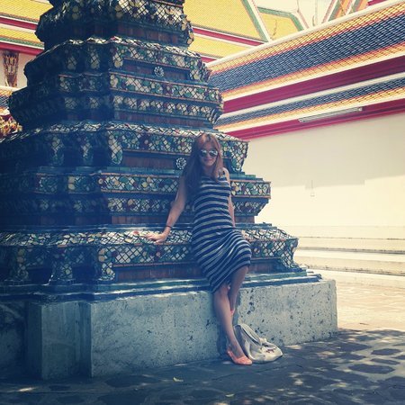 Wat Arun (Tempel der Morgenröte): Walking Around