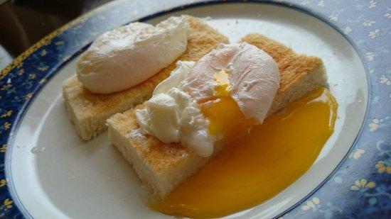 Pousada de Mong-Ha : egg benedict