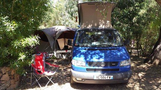 U Pirellu Camping: notre emplacement