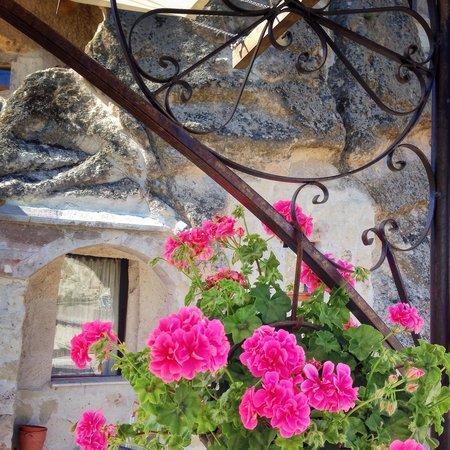 Kelebek Special Cave Hotel : 花园