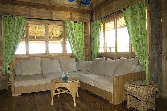 Sere Enkang House: Main Restaurant, Lounge Area