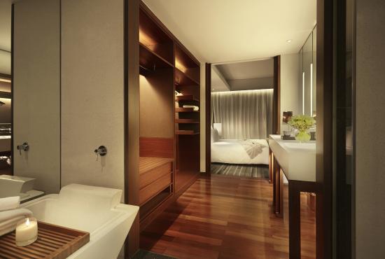 Hansar Bangkok Hotel: Hansar Bangkok Studio Bathroom