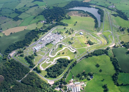 Tarporley, UK: Oulton Park from above