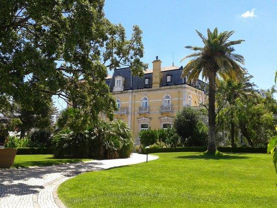 Pestana Palace Lisboa: stunning garden views