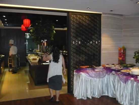 Shanghai Narada Boutique Bund: Китайский стол