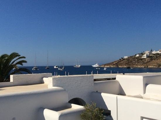 Mykonos Ammos Hotel: view from room
