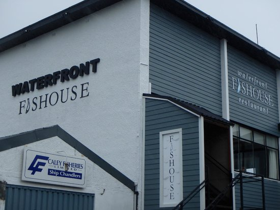 The Waterfront Fishouse Restaurant: The Waterfront Fishouse - Oban
