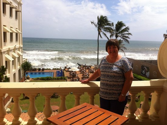 Galle Face Hotel Colombo : From our balcony