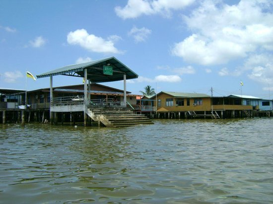 Kampong Ayer - Venice of East : Jetty 17 at Kampong Ayer
