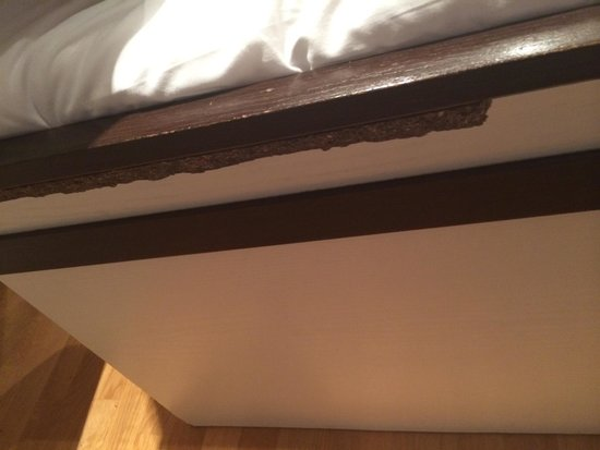 Hyde Park Executive Apartments : Bed was old & worn