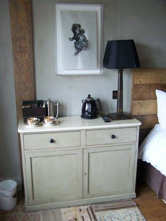Bell Inn Ticehurst: Nice furniture
