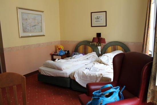Hotel Resonanz Vienna: расположение кроватей