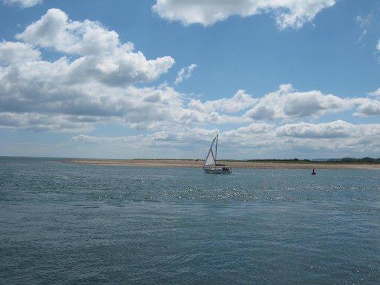 Exmouth Beach : View