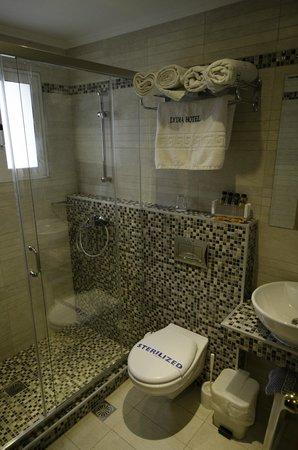 Lydia Hotel : shower room