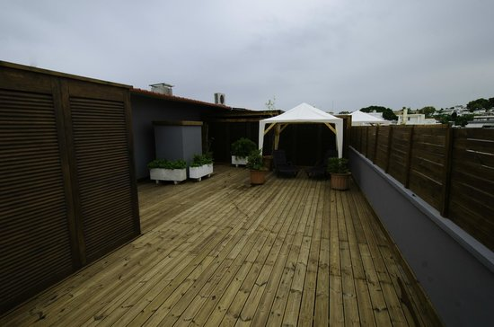 Lydia Hotel : roof public sun deck