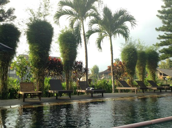 Tegal Sari: Lovely pool area that welcomes the guests to swim and relax.