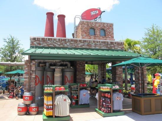 Universal Studios Florida: Duff beer