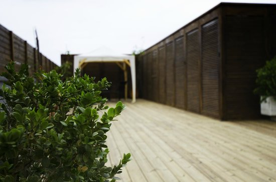 Lydia Hotel : public roof terrace