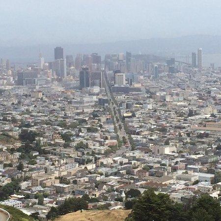 Twin Peaks: サンフランシスコ市内一望