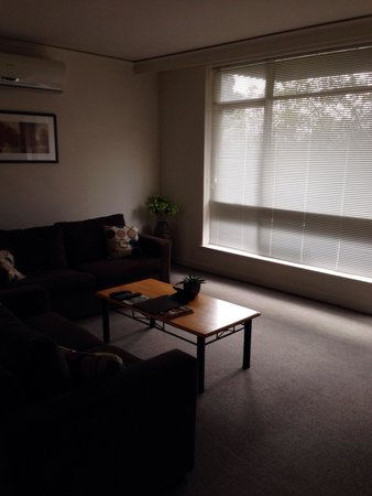 Park Avenue Accommodation Apartments @ Kew: Living room in Unit 2