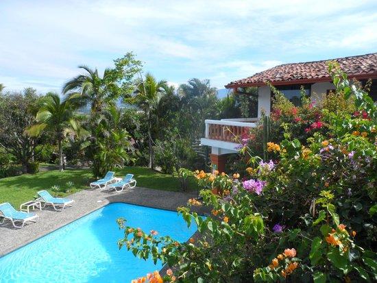 Hotel Posada Canal Grande : Erste Eindrücke: Garten und der Ausblick zeigen die Schönheit des Landes.