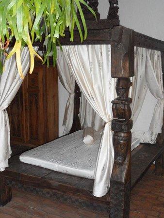 Hotel Posada Canal Grande: Sehr einladend: Sitzgelegenheiten vor den Zimmern.