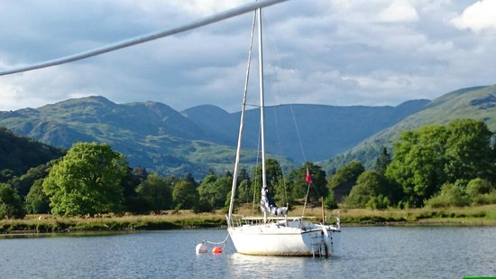 Bowness-on-Windermere, UK: View from Ambleside