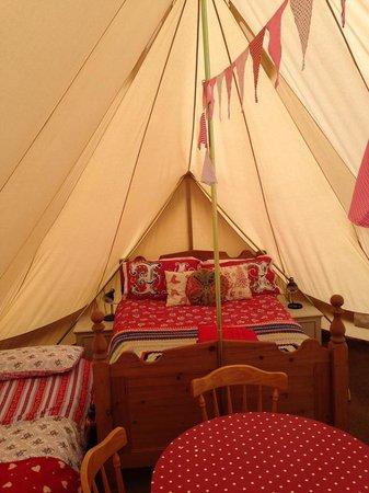 Beuvelande Camp Site: Emperor Tent Inside
