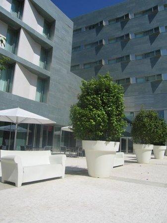 NH Collection Santiago de Compostela : Terraza