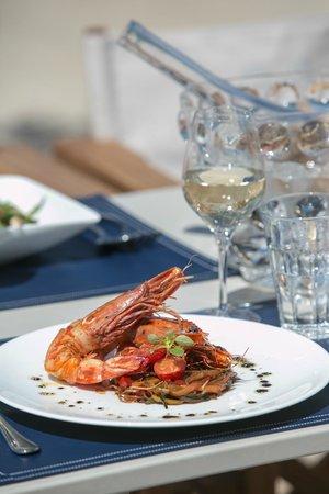 Plage Belles Rives : Mediterranean Food Proposals