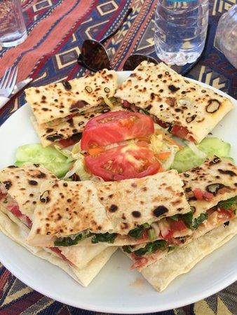 Nazar Borek & Cafe: Vegetarian Gozleme