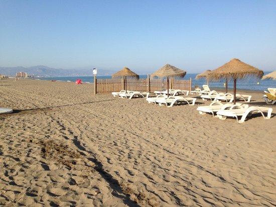 Parador de Malaga Golf: Playa del parador