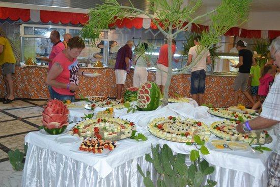 Riadh Palms Hotel: diner