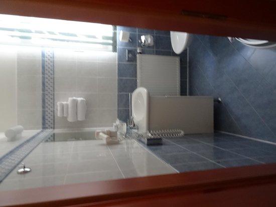 Hotel Modra Ruze: badeværelse