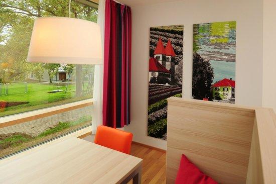 Haus Insel Reichenau: Sitzbereich Doppelzimmer