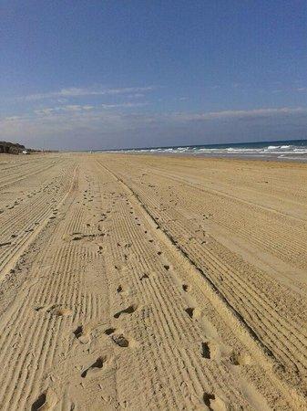 ClubHotel Riu Chiclana: playa a las 10:30 de la mañana