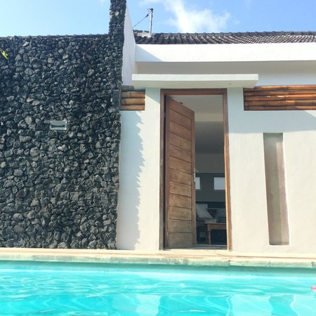 The Apartments Canggu: Apt. Blue - pool is right there
