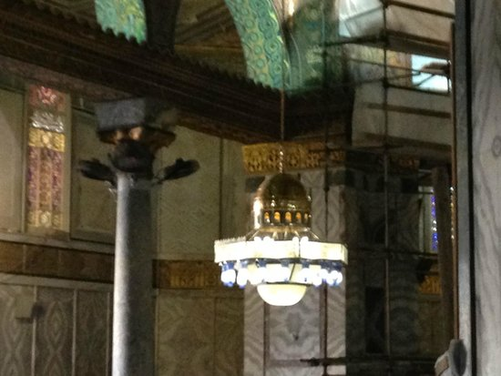 Temple Mount: Light inside the Dome, a Gift from Egypt