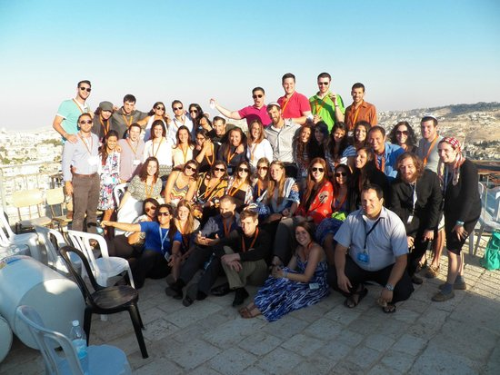 Abrahams Tent Jewish Hostel : Gorgeous Location for a Group Pic