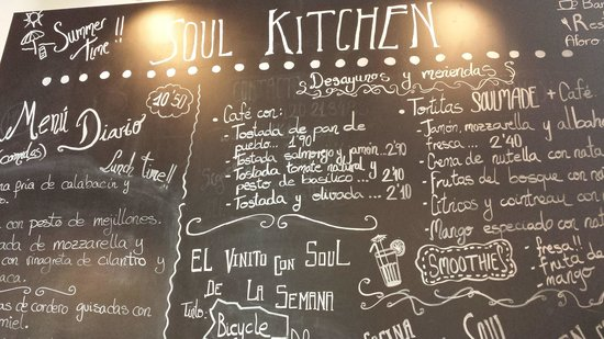 Soul Kitchen: La pizarra-Pared!!