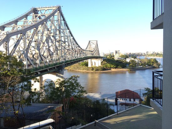 Adina Apartment Hotel Brisbane: View from room 614