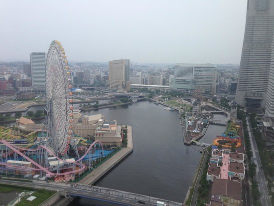 InterContinental  Yokohama Grand: View from our Room