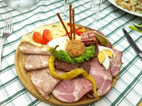 Siedler: typical dish