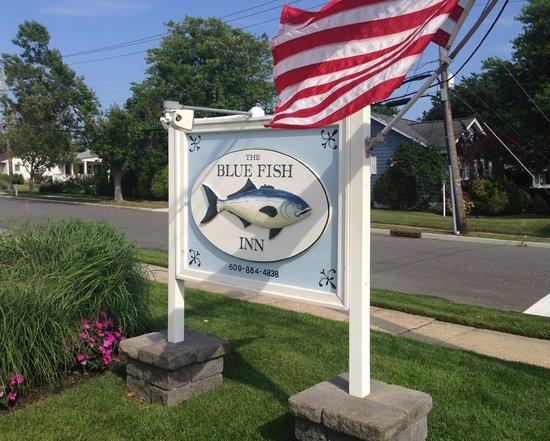 Blue Fish Inn sign
