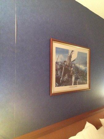 Novotel Cannes Montfleury : Wallpaper adrift