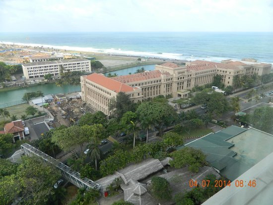 Hilton Colombo: view from my room