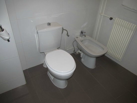 Best Western Hotel De France : Toilet and bidet