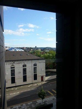 Staybridge Suites Newcastle : View across Newcastle